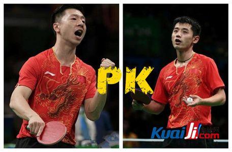 视频 2014乒乓球世界杯决赛张继科VS马龙集锦颁奖
