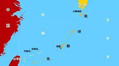 [琉球群岛属于日本]琉球群岛地图