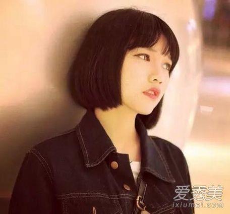 2016齐肩短发图片 圆脸齐肩短发图片 齐肩短发图片2015女 齐刘海齐肩