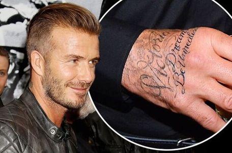延伸阅读--纹身达人小贝 左臂内侧,罗马字母.图片图片